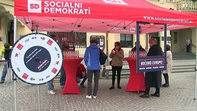 Predstavitve stranke SD za evropske volitve