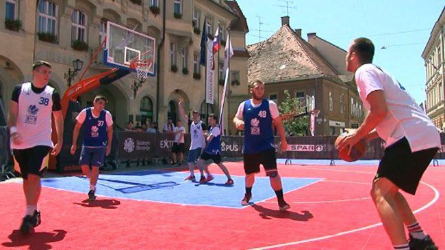 Na Ptuju turnir v košarki 3×3