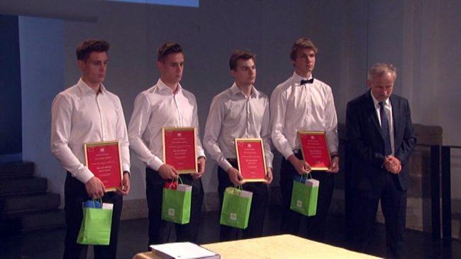 Podelitev diplom dijakom Elektro in računalniške šole Ptuj