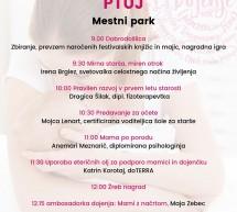 To soboto v ptujskem mestnem parku festival Dojiva se