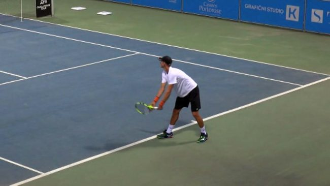 Blaž Rola igral v polfinalu teniškega turnirja v Portorožu