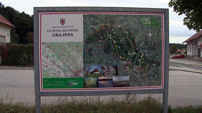Infrastruktura v Četrtni skupnosti Grajena
