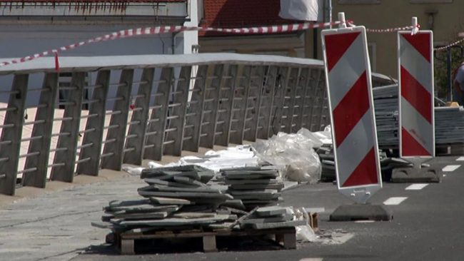 Sanacija peš mosta