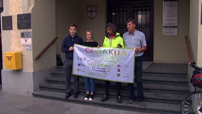 Matjaž Golob dobrodelno kolesari po Sloveniji