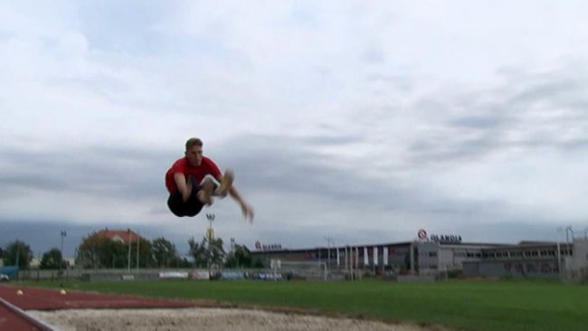 Odlični skoki atleta Žana Vihra