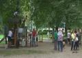 Mladi iz Burghausna skupaj s prostovoljci polepšali igrala