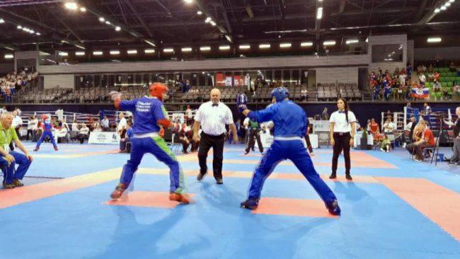 Patrik Šulek evropski mladinski prvak v point fightingu