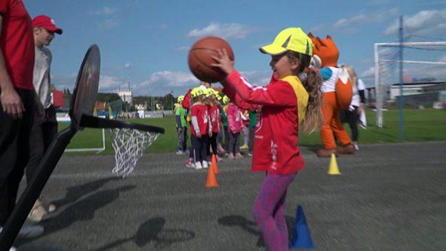Mini olimpijada otrok vrtcev
