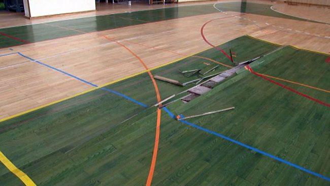 Športna dvorana Center je zaprta