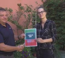 Predaja donacije ptujskim gasilcem