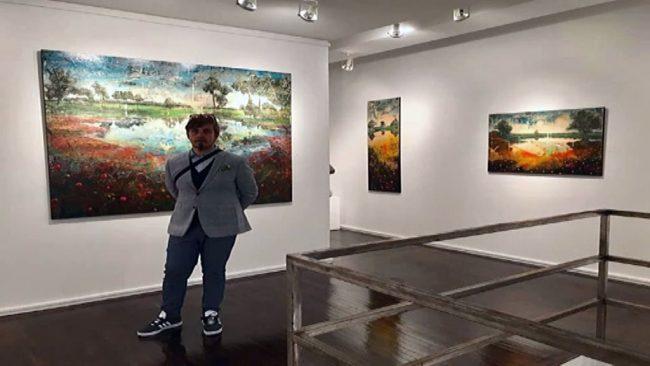 Jernej Forbici razstavlja v New Yorku