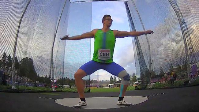 Kristjan Čeh je tekmoval na svetovnem prvenstvu v atletiki