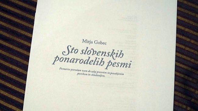 Sto slovenskih ponarodelih pesmi