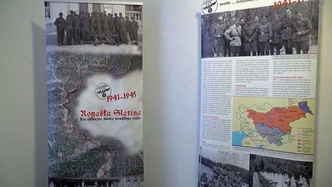 Razstava Rogaška Slatina 1941- 1945 kot obmejno mesto Tretjega rajha