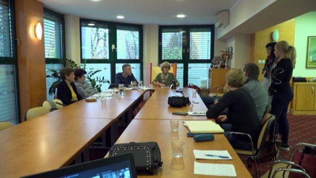 Novinarska konferenca v Domu upokojencev Ptuj