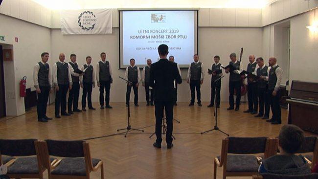 Letni koncert Komornega moškega zbora Ptuj