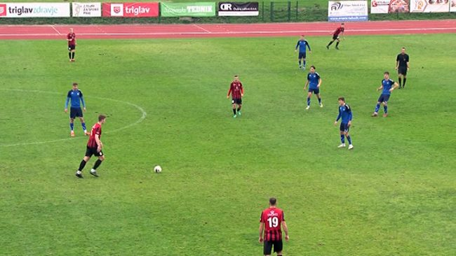 Jesenski del tekmovanja nogometašev Drave