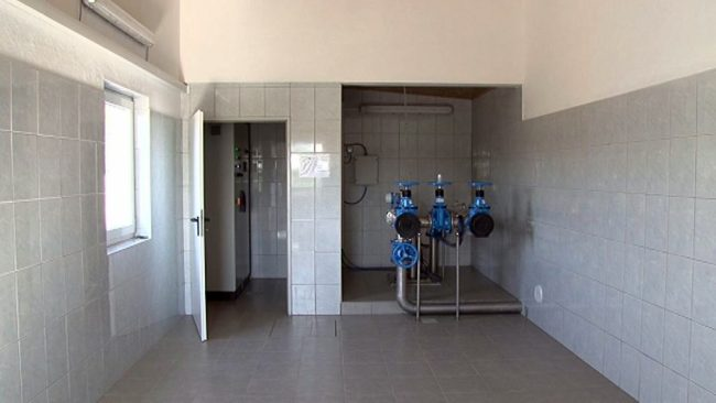 Gradnja vodovodnega sistema