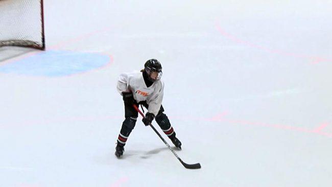 Odlična mlada ptujska igralka hokeja Arwen Nylaander