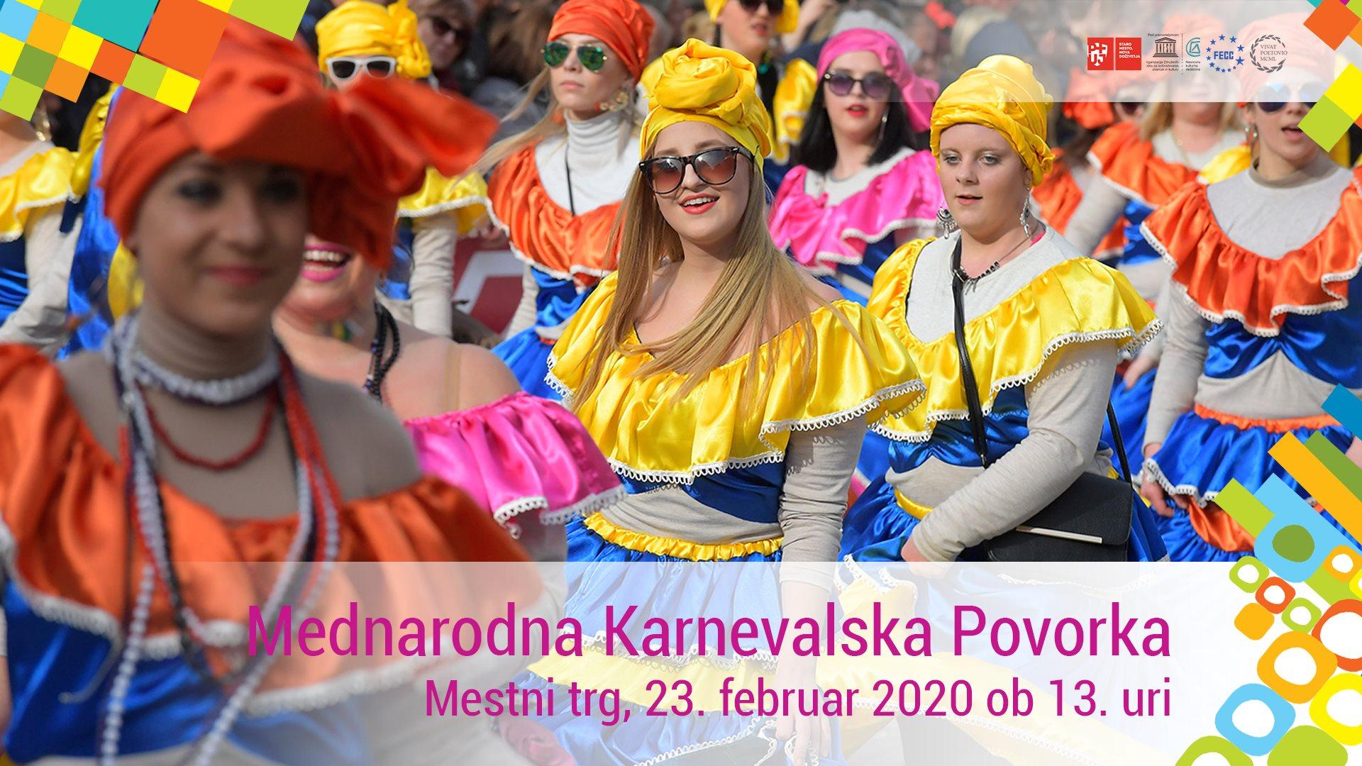 Mednarodna karnevalska povorka (POSNETEK V NEDELJO OB 20. URI NA PeTV)