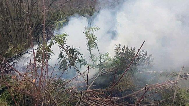 Prepoved kurjenja in uporaba odprtega ognja v naravnem okolju