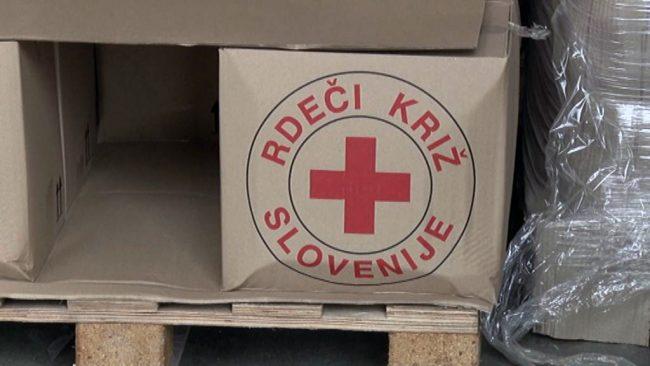 Prehrambeni paketi Rdečega križa Slovenije