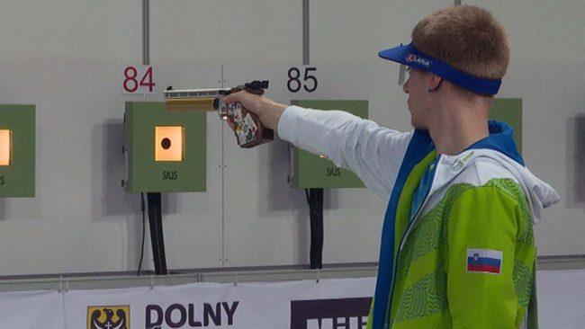 Sašo Stojak tekmoval na evropskem prvenstvu v streljanju