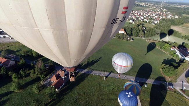 Polet z balonom