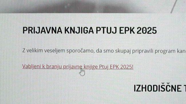 Mestni svetniki so potrdili nadaljevanje kandidature za Ptuj EPK 2025