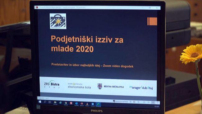 Podjetniški izziv za mlade 2020