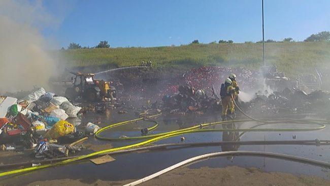 Požar v CERO Gajkah