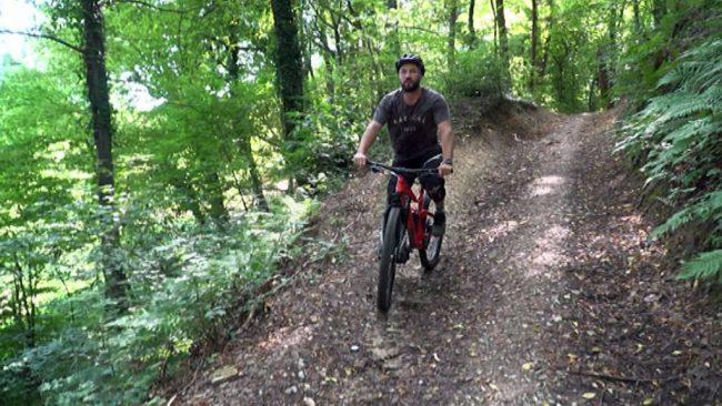 Filip Flisar se rad ukvarja z adrenalinskimi športi