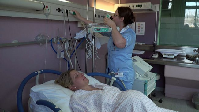 Lajšanje bolečin pri porodu
