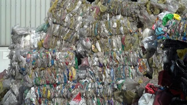 Odvoz smeti iz CERO Gajk