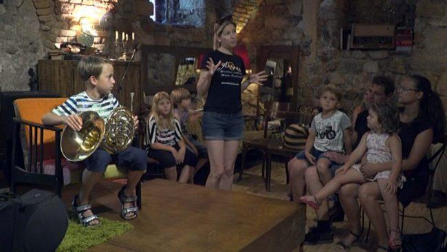 Otroški program na festivalu Arsana