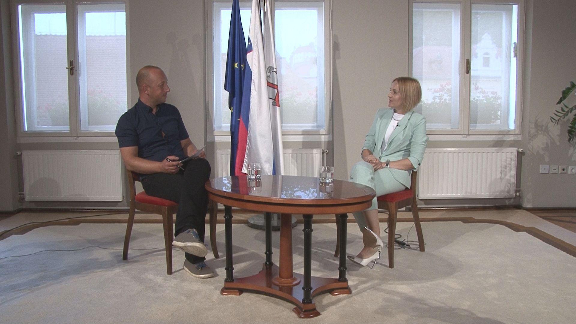 Pogovor z županjo MO Ptuj Nuško Gajšek ob občinskem prazniku