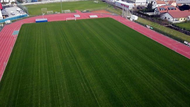 Prenova glavnega nogometnega igrišče na Mestnem stadionu Ptuj