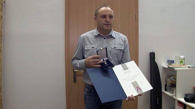 Srebrni znak policije za sodelovanje z ZŠAM Ptuj
