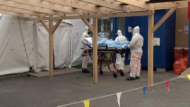 Povečano število covid pacientov v ptujski bolnišnici
