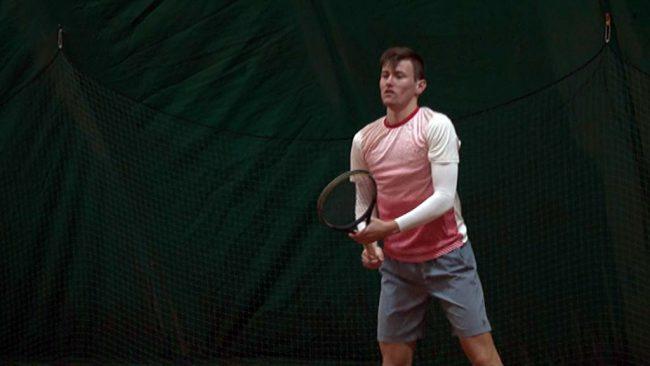 Blaž Vidovič tretji na zimskem državnem prvenstvu v tenisu