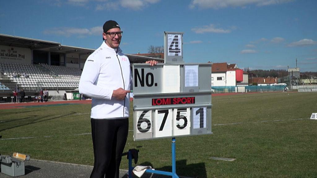 Kristjan Čeh izpolnil normo za nastop na olimpijskih igrah v Tokiu