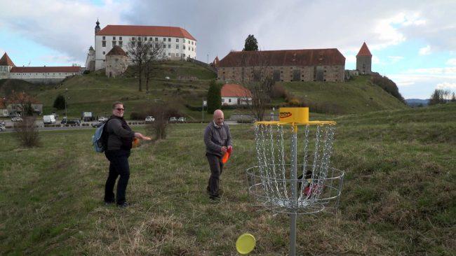 Predstavitev disc golfa