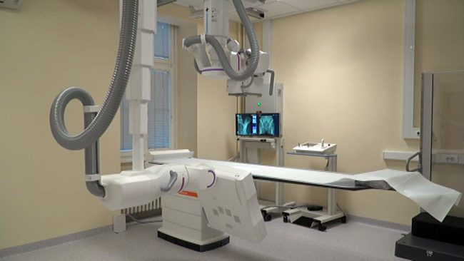 Nov rentgenski aparat