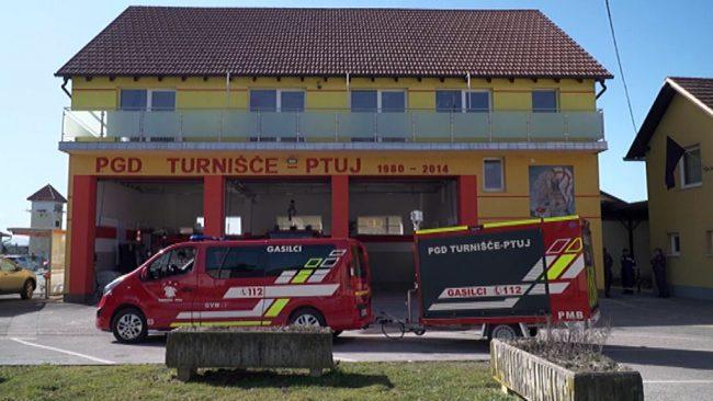 Nova gasilska prikolica za PGD Turnišče