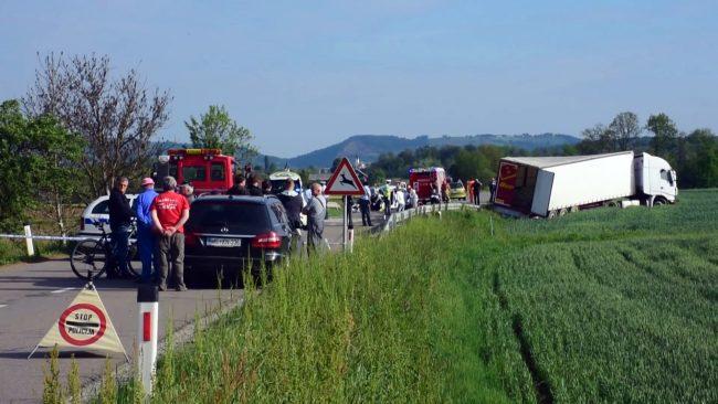 Zmanjšano število prometnih nesreč