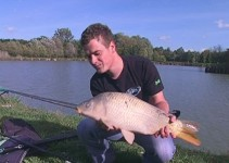 Uspešen ptujski ribič Aleks Mesarič