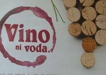 Pričenja se festival Vino ni voda!