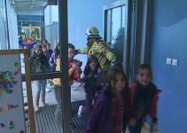 Vaja evakuacije na Osnovni šoli Ljudski vrt