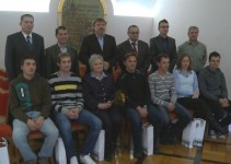 Župan Čelan sprejel ekipo prve pomoči Civilne zaščite MO Ptuj