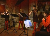 Chili ART Quartet začinili valentinov večer